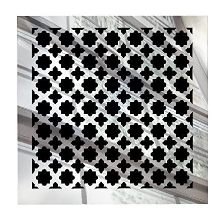 Saba Fiberglass Decorative Grille Vent Return Register Easy Air Flow Venetian Style Cover 6 Inch X 6 Inch 8 X 8 Overall For Walls And Ceilings
