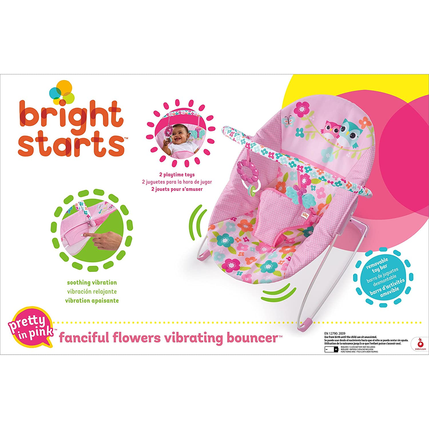 Bright Starts Hamaca Fanciful Flowers/™