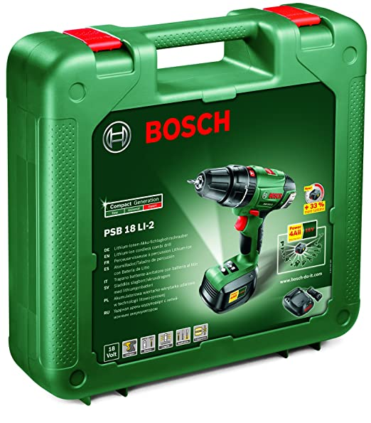 Bosch de-taladro-atornillador PSB 18 LI-2/1-acupuntura con ...