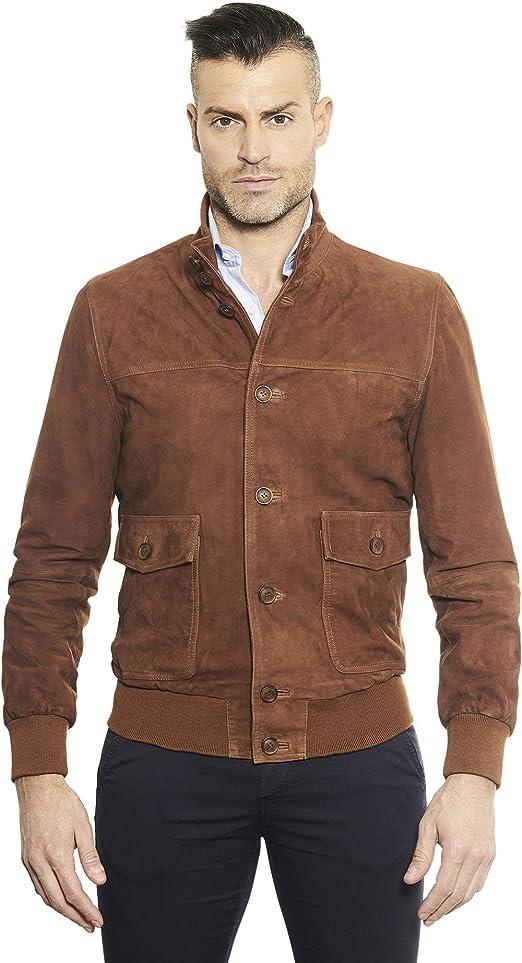 giacche corte uomo scamosciate