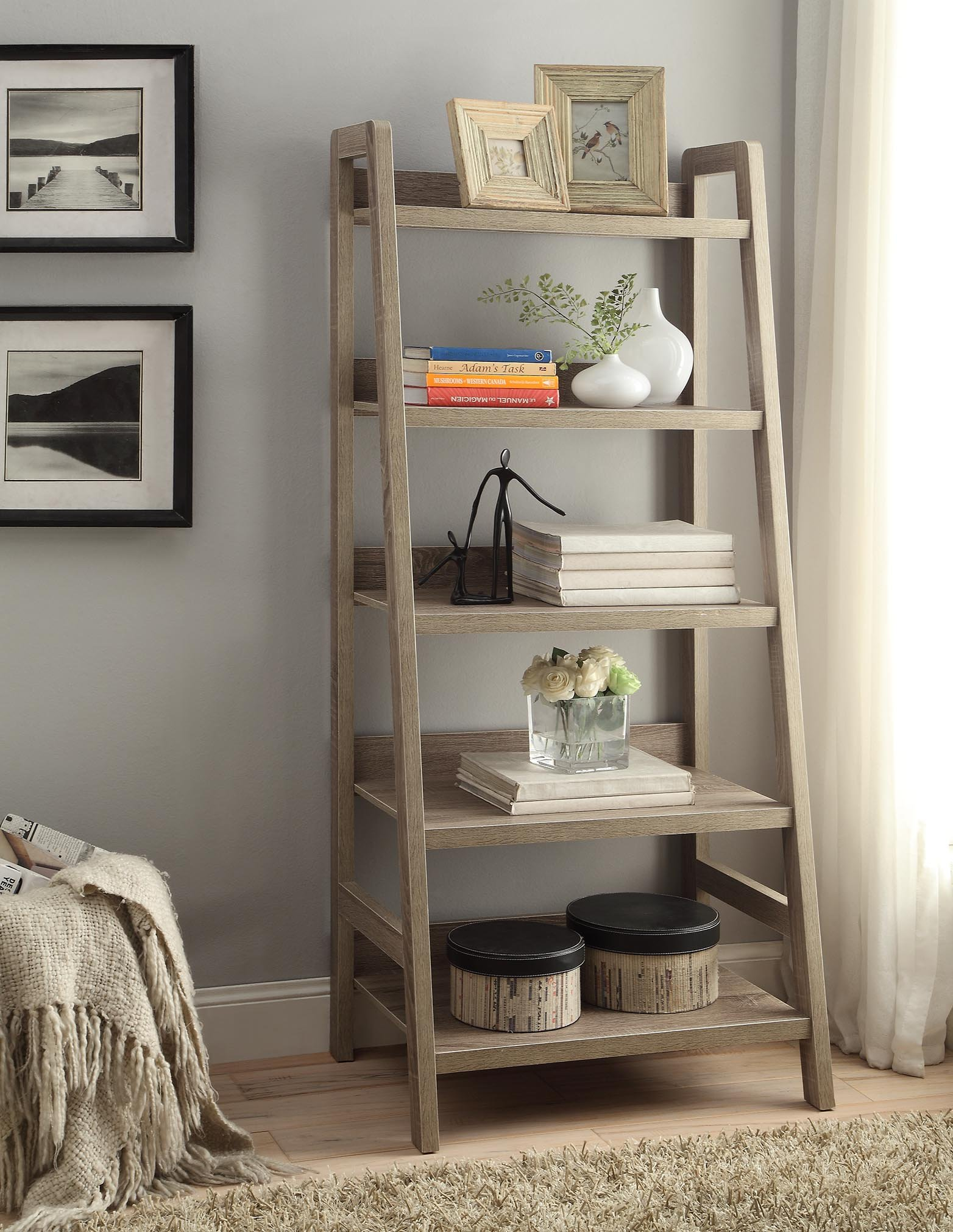 Tracey Ladder Bookcase