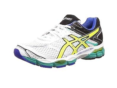 ASICS Men's Gel-Cumulus 16 Running Shoes Yellow blau