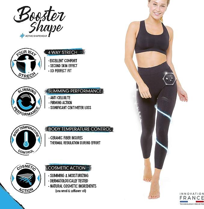 BoosterShape Legging de Sport Femme Cosmétotextile