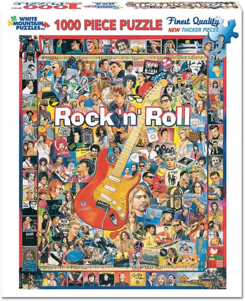 Rock N Roll Jigsaw - 1000 Piece