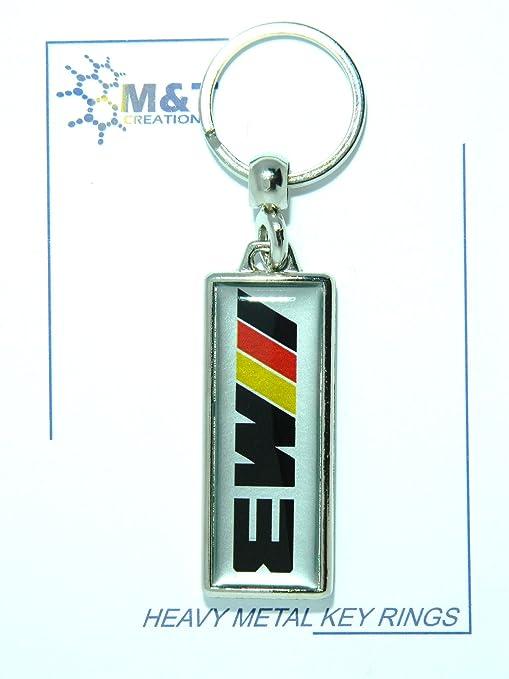 Heavy Metal Llavero One Side Medallón Insertar 3d plástico ...