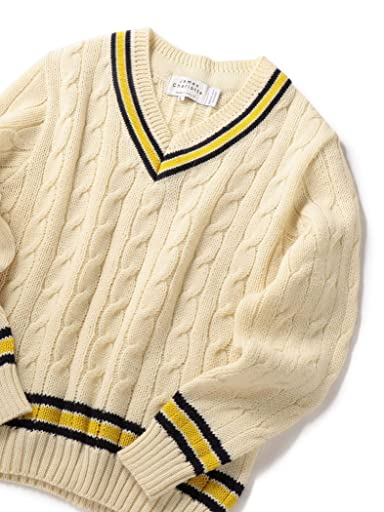 James Charlotte Wool Cricket Sweater 126-18-0004: Off White