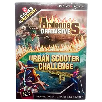 Urban Scooter Challenge 2 Games in 1