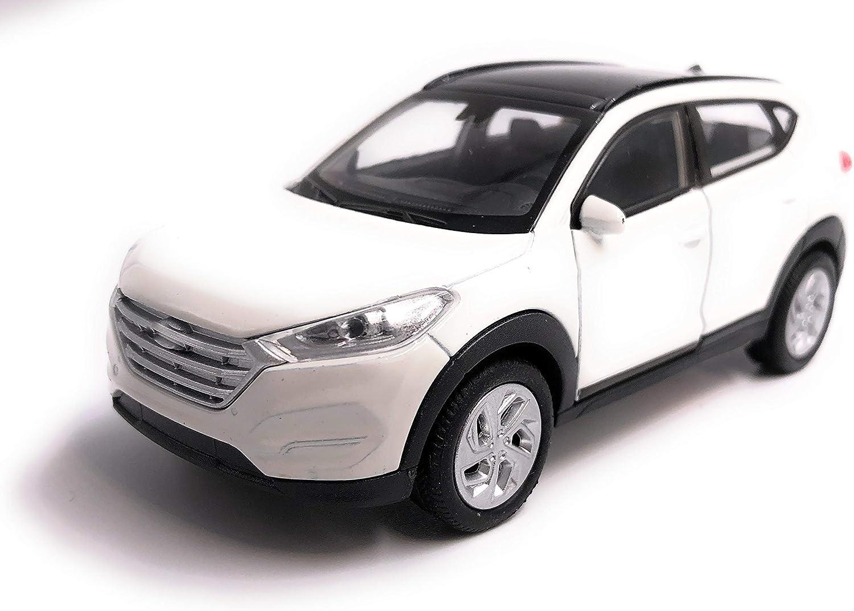 H Customs Hyundai Tucson Modellauto Auto Lizenzprodukt 1 34 1 39 Weiß Auto