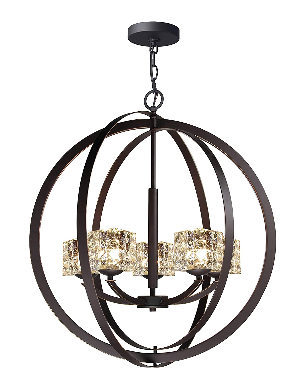 Woodbridge lighting 14325meble c80414 chandelier mercury crystal