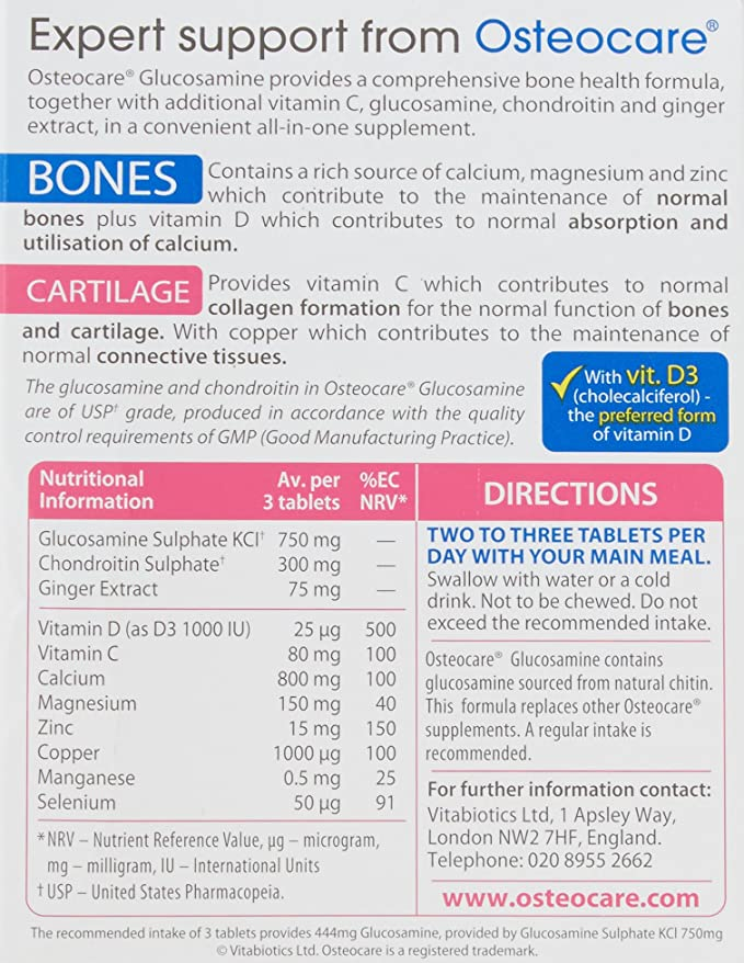 osteochondrovitis cu recenzii de glucozamină și condroitină