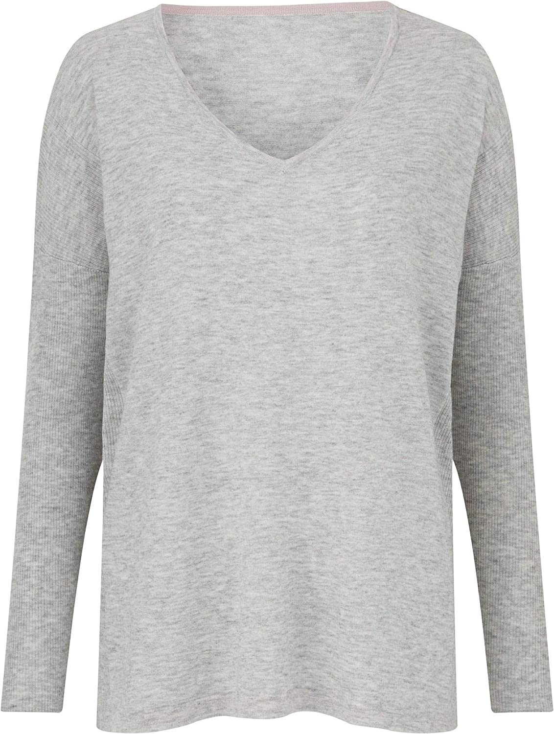Womens V Neck Jumper Simply Be