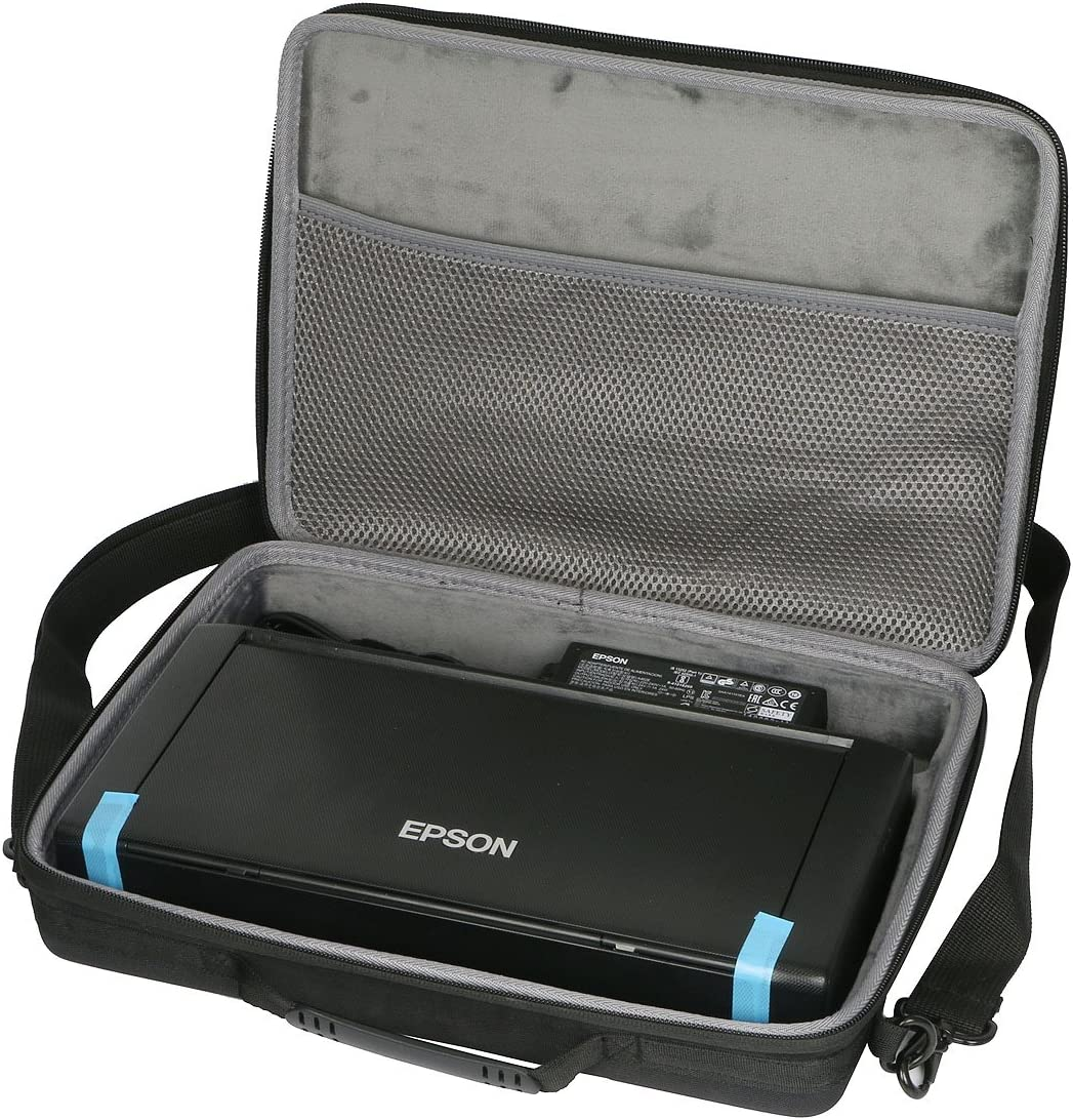Co2crea Hard Travel Case Bag For Epson Workforce WF 100 Wireless Mobile Printer
