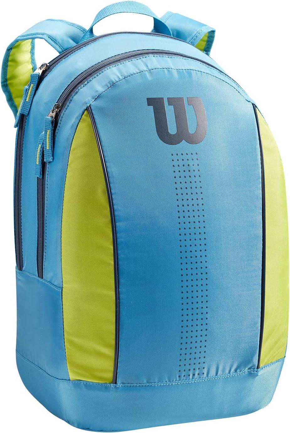 Azul//verde lima//azul marino WR8012903001 Wilson Junior Mochila de tenis Hasta 2 raquetas