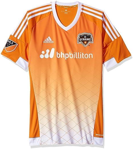 adidas Houston Dinamo MLS Rendimiento Jersey Replica-Camiseta, Color Naranja, Soccer, Color