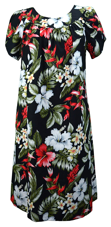 610a5b32881 RJC Women s Hibiscus Ginger Heliconia Muumuu Dress at Amazon Women s  Clothing store