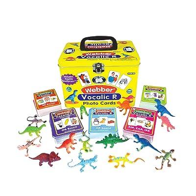 Super Duper Publications Webber Vocalic R Photo Card Decks Educational Learning Resource for Children: Toys & Games