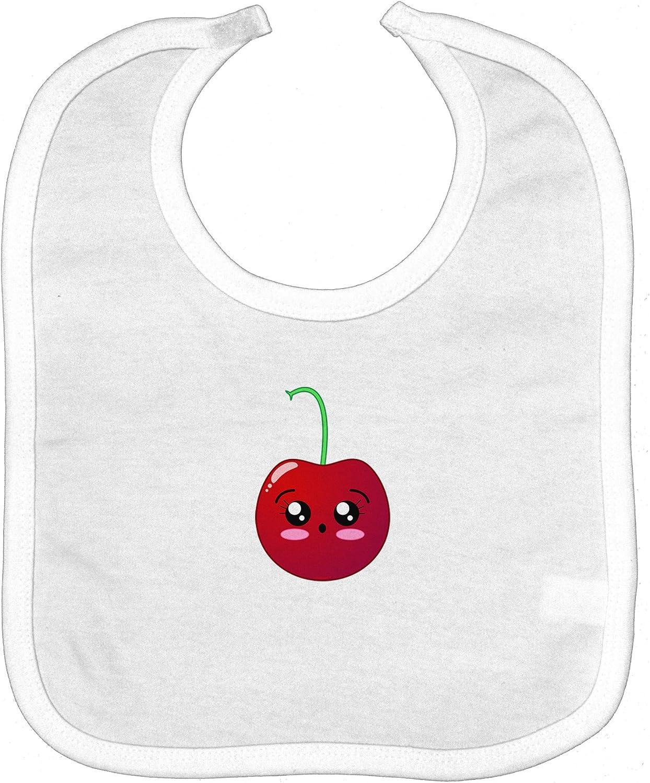 Baby Bib with Apple Design