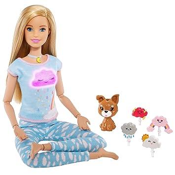 Amazon.es: Barbie Bienestar Respira Conmigo, Muñeca con ...