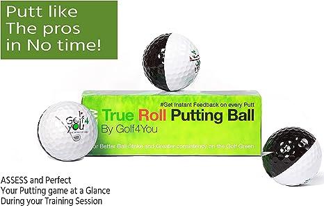 Amazon.com: Paquete de 3 pelotas de práctica de golf ...