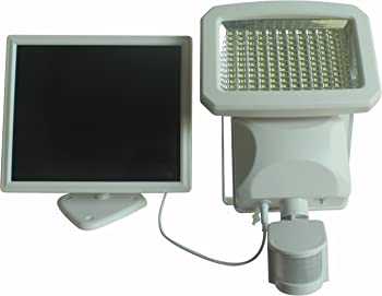 Nature Power 144 LED Solar Powered Outdoor Security Light