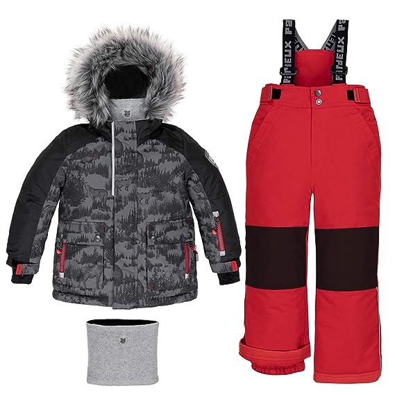 Deux par Deux Two-Piece Snowsuit Boy Toddler Kids Winter 2 Years to 14 Years