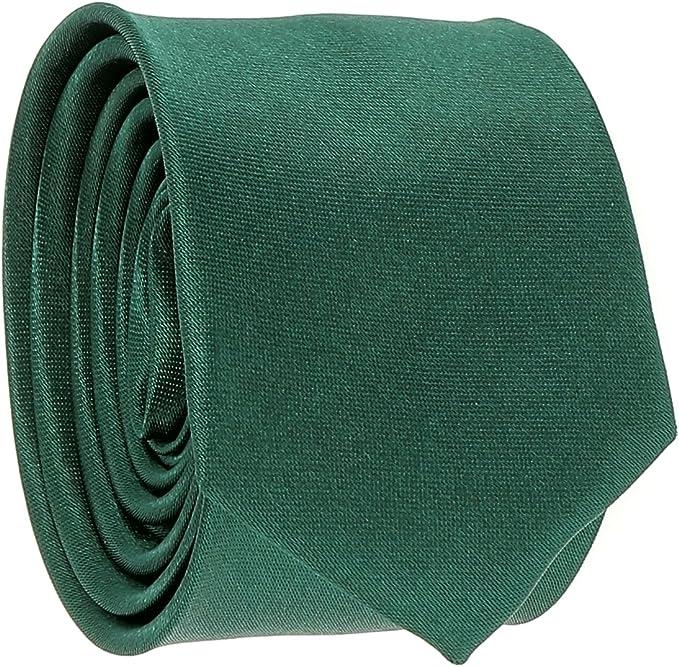cravateSlim Corbata Estrecha Verde Oscuro: Amazon.es: Ropa y ...