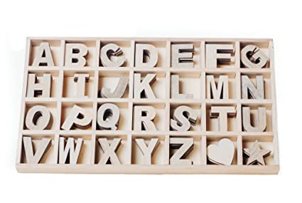 mega box of 168 craft wood letters varying natural colors wood alphabet 2125quot