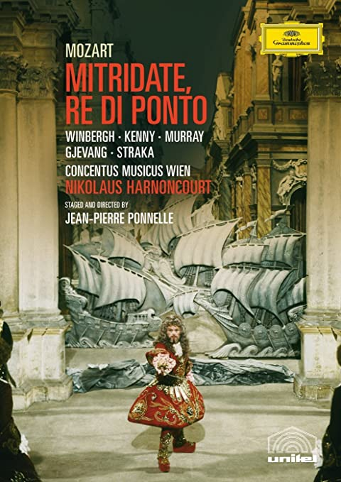 Amazon.com: Mozart - Mitridate, Re di Ponto: Gösta Winbergh, Yvonne Kenny, Ann Murray, Anna Gjevang, Joan Rodgers, Peter Straka, Jean-Pierre Ponnelle, ...
