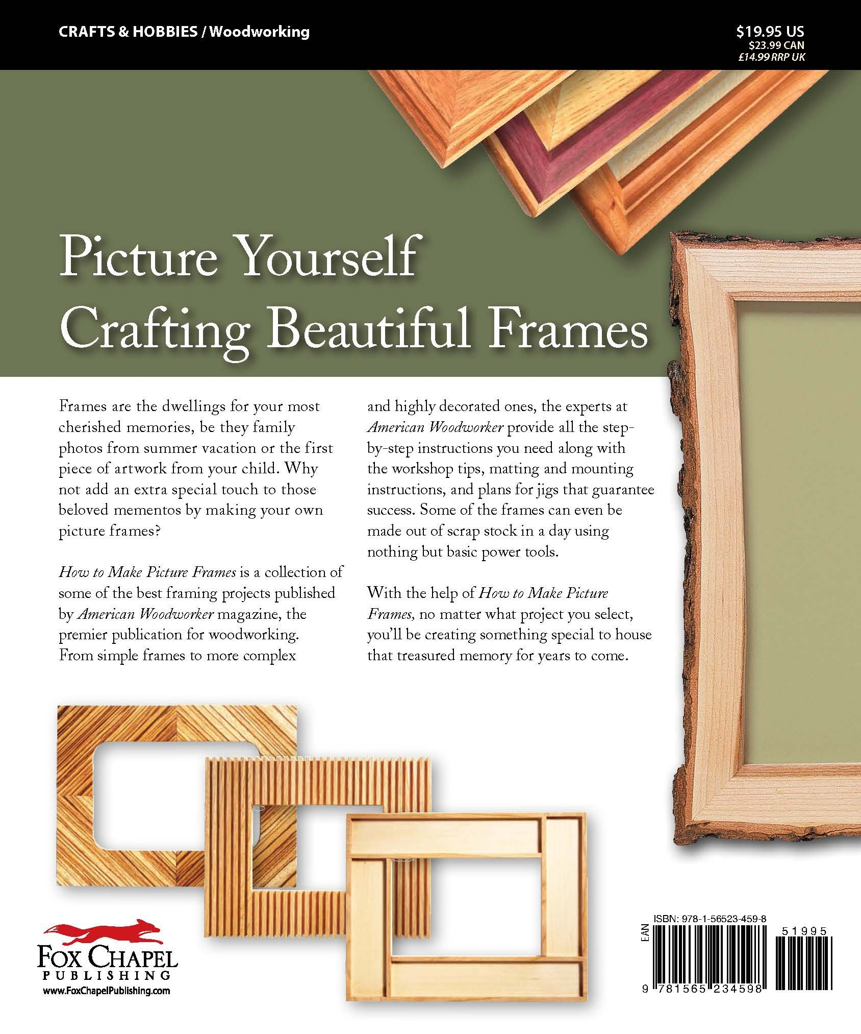 Buy How to Make Picture Frames (Best of AW) (American Woodworker How ...