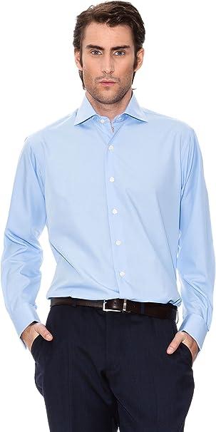 Rushmore Camisa Pino Azul M: Amazon.es: Ropa y accesorios