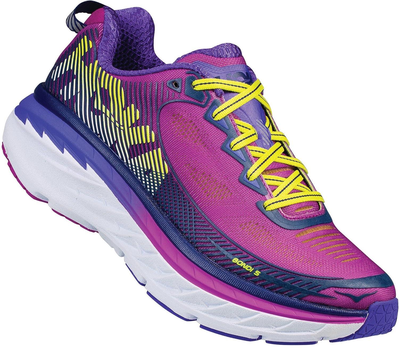 HOKA ONE ONE Women's Bondi 5 Running Shoe B073VQ5X92 7 B(M) US|Purple