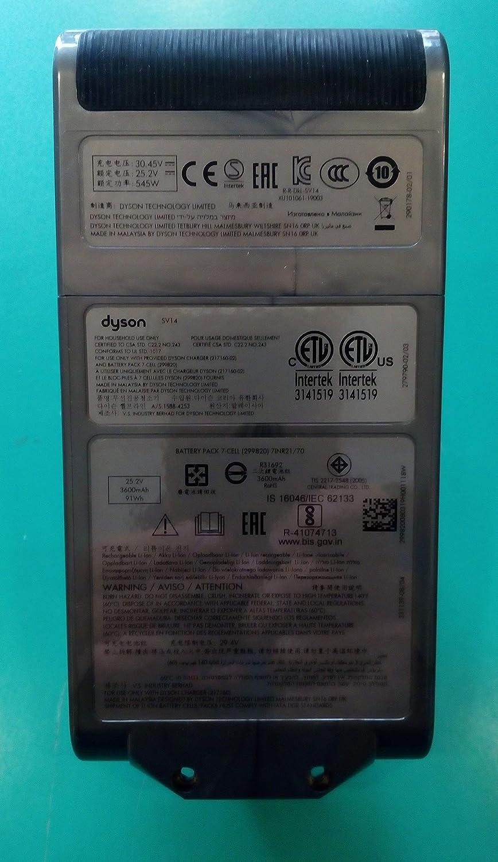 Batería para aspiradora Original Dyson V11 SV14 970145-02 25,2 V ...
