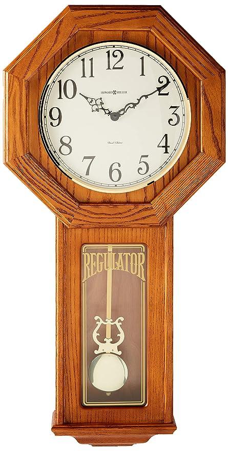Amazon Com Howard Miller 620 160 Ansley Wall Clock Home Kitchen