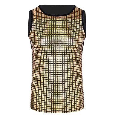 iixpin Herren Weste Shirt M/änner Unterhemd T-Shirt Tank Top /Ärmelloses T Shirt Oberteiler