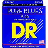 DR Strings Pure Blues Pure Nickel Wrap Round Core 9/46