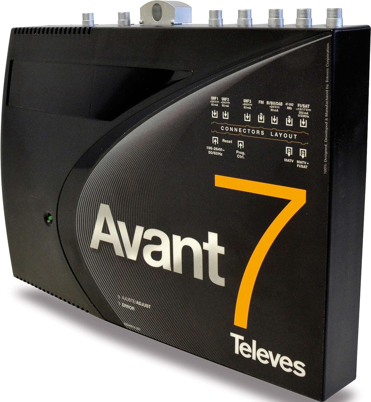 Televes avant - Amplificador avant 7 fm-biii/dab-tb-3u-fi ...