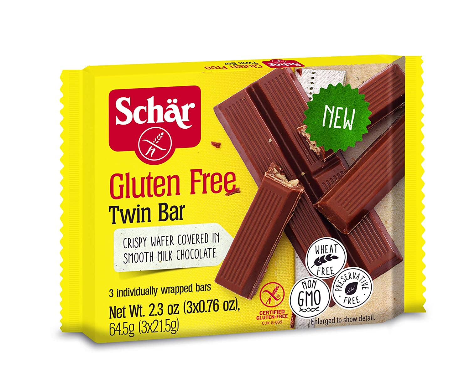 Schar Twin Bar: Amazon.com: Grocery & Gourmet Food