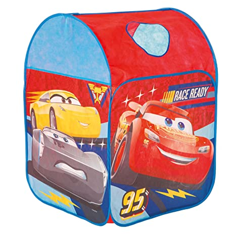 Disney Cars Race Ready Pop Up Play Tent  sc 1 st  Amazon.com & Amazon.com: Disney Cars Race Ready Pop Up Play Tent: Toys u0026 Games