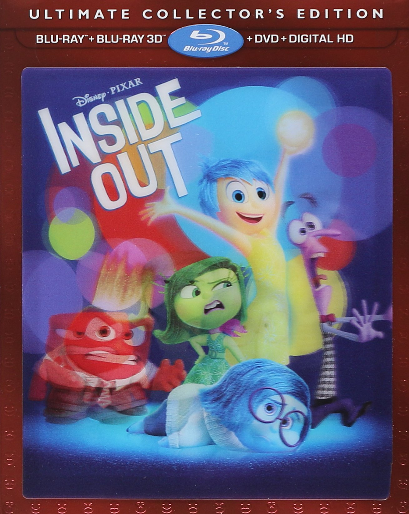 Blu-ray 3D : Inside Out (With Blu-Ray, With DVD, Boxed Set, , Digital Theater System)