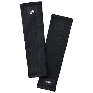 adidas - Performance - Media de compresión para pantorrilla - Tecnología Techfit - Negro - XS: Amazon.es: Deportes y aire libre