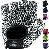 C.P.Sports Fitness Handschuh Klassik in vielen Farben, Fitnesshandschuhe, Trainingshandschuhe, Bodybulding Handschuhe für Fitness Training F3