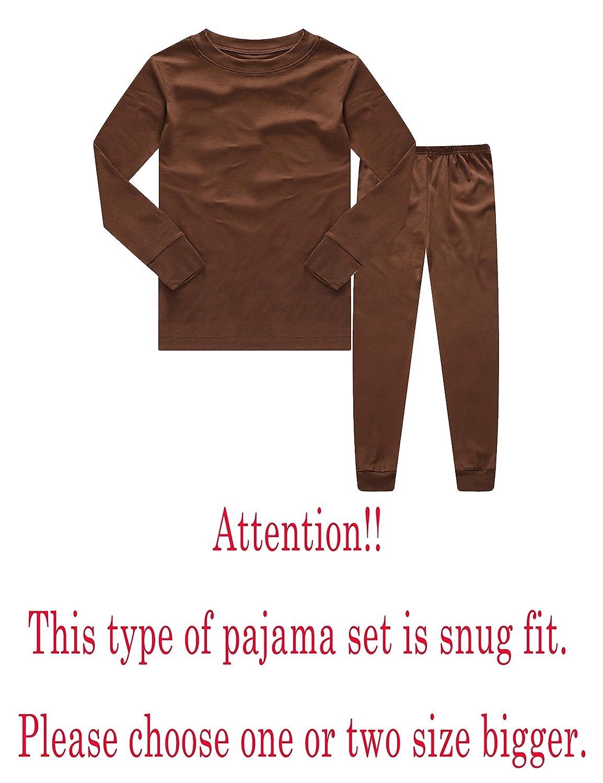 Family Feeling Truck Little Boys Kids Pajamas Sets 100/% Cotton Pjs Toddler