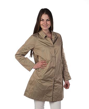 c1235fcd14bd2 Add - Giacca - Cappotto estivo - Donna Beige 46 M  Amazon.it  Abbigliamento