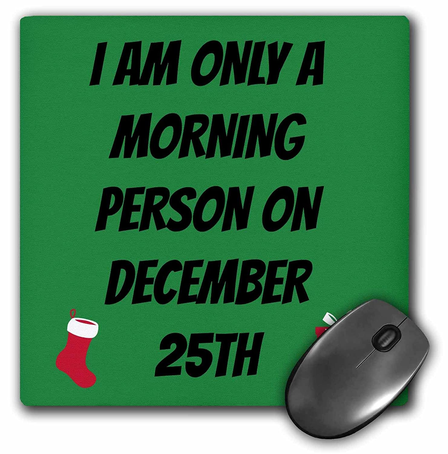 Amazon.com: 3dRose Xander Holiday Quotes - I am on a Morning ...