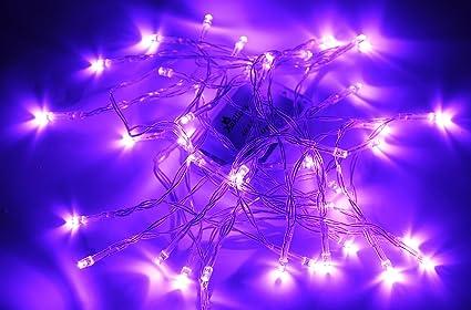 karlling battery operated purple 40 led fairy light string wedding party xmas christmas decorationspurple