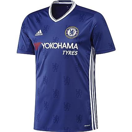 Amazon Com Men S Chelsea Fc Home Soccer Jersey 2016 17 Clothing