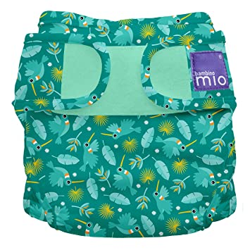 Bambino Mio Miosoft Two to Piece Nappy Trial Pack 9kg Rainy Days Size 1