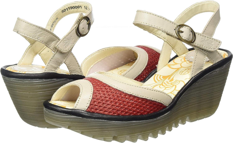 Sandalias de Punta Descubierta para Mujer Fly London Yans190fly