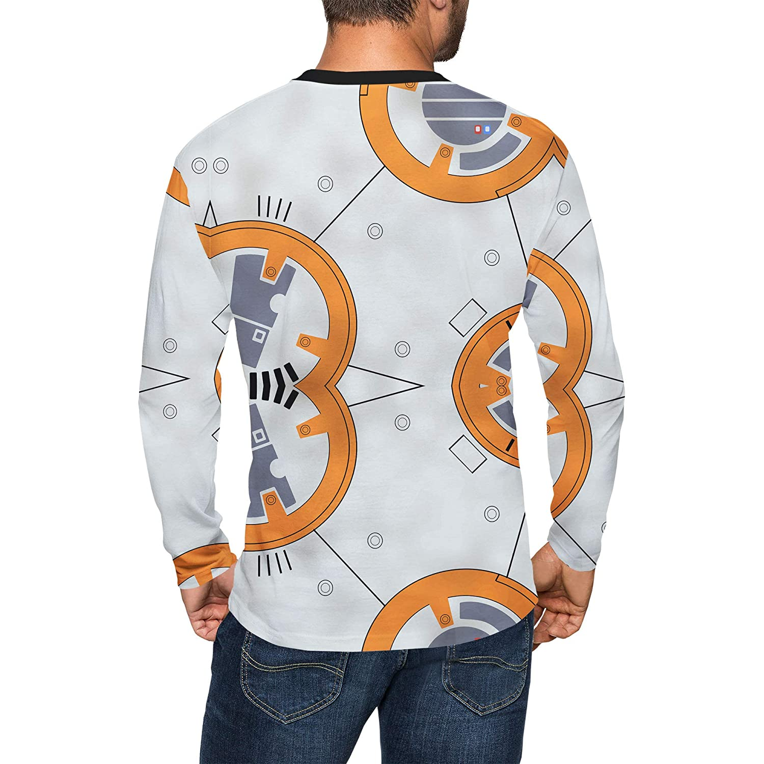 Queen of Cases Little Round Droid Mens Longsleeve Tee
