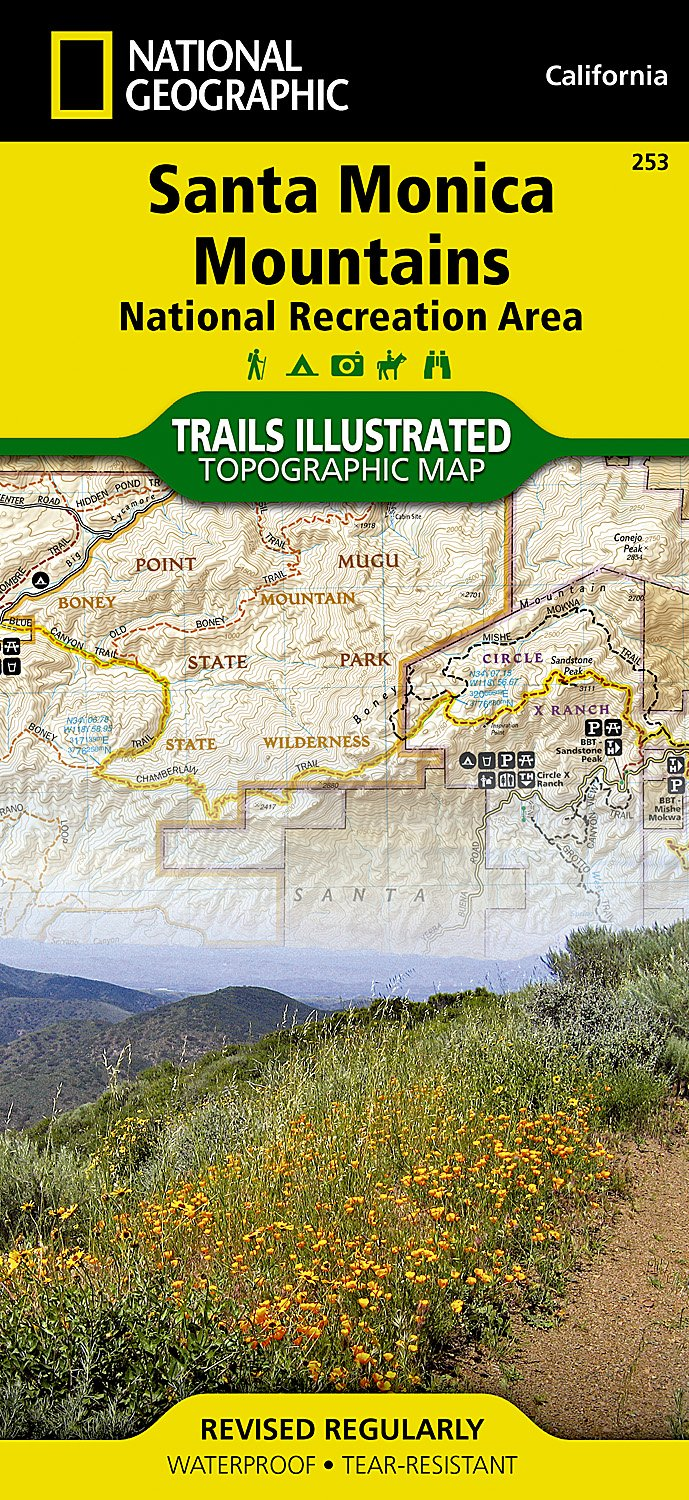 Santa Monica Mountains Map